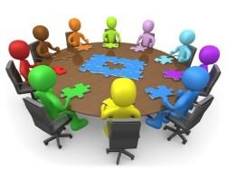Optochtdeelnemers bijeenkomst