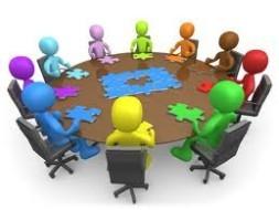 Optocht deelnemers bijeenkomst