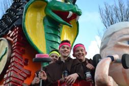 Bende van Ellende is NON-actief met carnaval.
