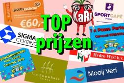 Carnavalsavond met TOP prijzen!