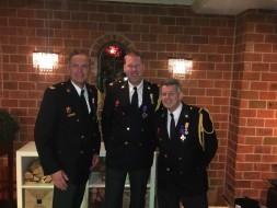 Drie vrijwilligers ontvangen Koninklijke onderscheiding!