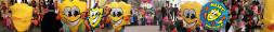 Masky is de mascotte van Carnaval Zwaag