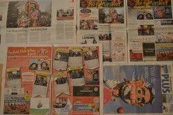 Carnaval Zwaag volop in de media