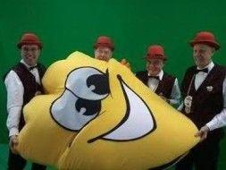 Masky is de nieuwe troef van carnaval Zwaag