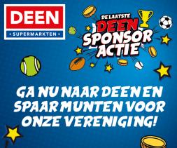 Deen Sponsoractie is weer van start!