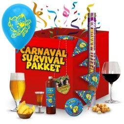 Ophalen 'Hoe overleef ik thuis carnaval-pakketten'