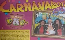 Carnavallers in de Media