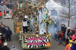 De Viervoeters vieren natuurlijk carnaval!