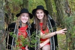 Hofdames Ronny & Elise