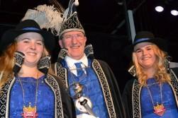 Prins CoBra en Hofdames Kelly & Rianne