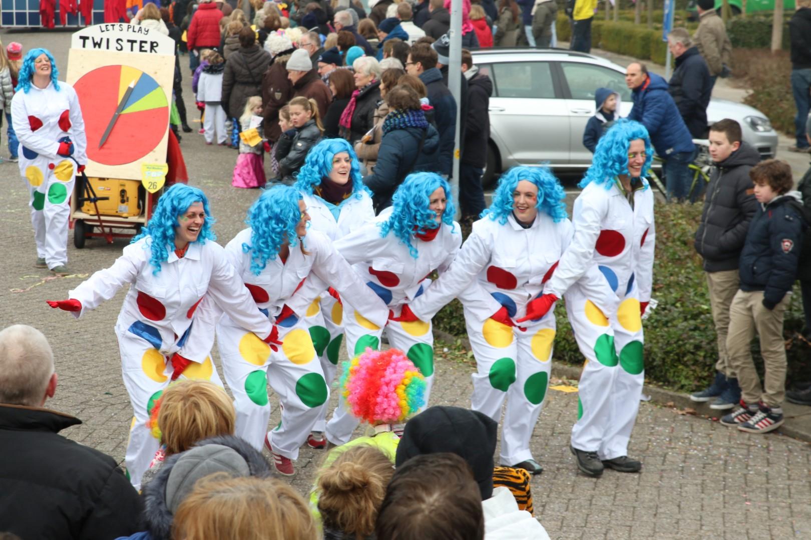dieven carnaval loopgroep